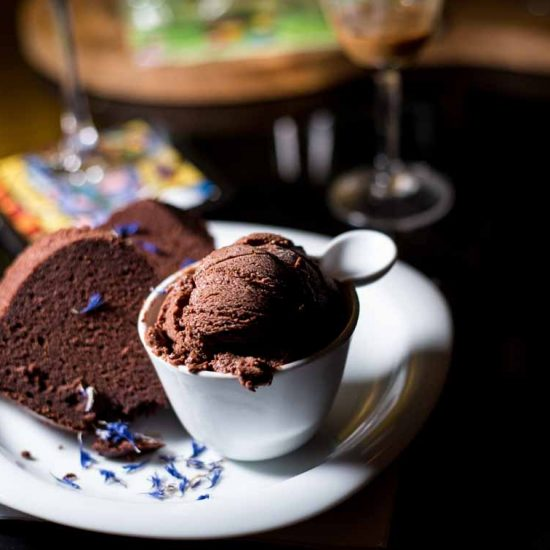 Schokoladen Dessert